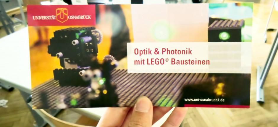 Optik & Physik mit Lego Bausteinen